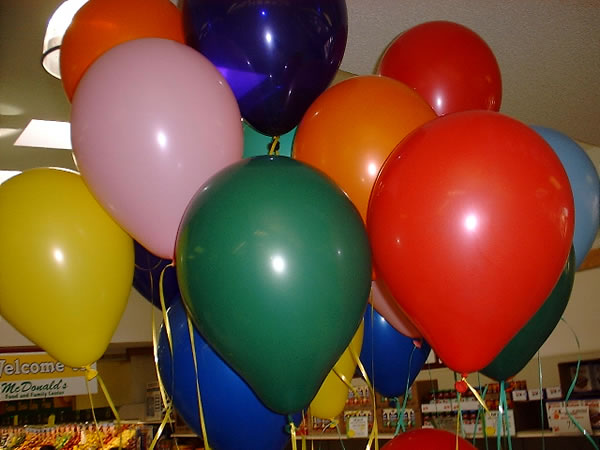 Balloons Mcdonald S Food And Family Center